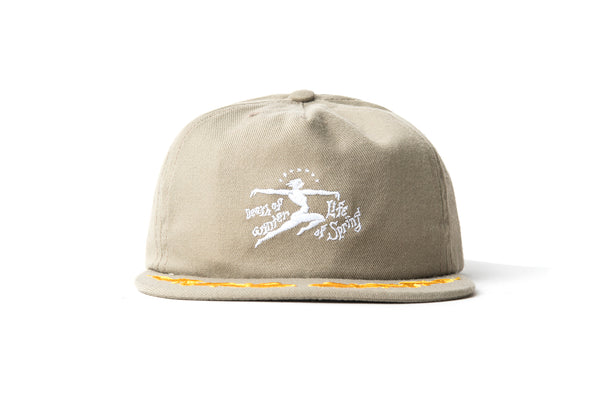 "BRAIN DEAD ""DEATH OF LIFE HAT"" (Khaki)"