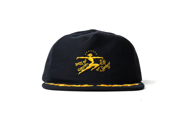 "BRAIN DEAD ""DEATH OF LIFE HAT"" (Navy)"