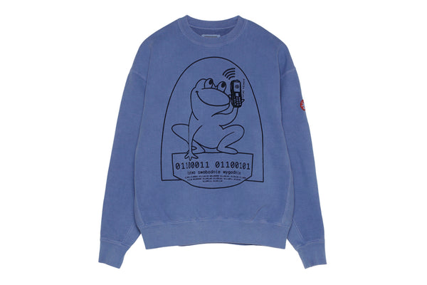 "C.E ""OVERDYE EASILY COMFORTABLE CREWNECK"" (Blue)"