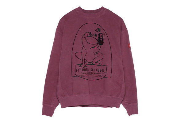 "C.E ""OVERDYE EASILY COMFORTABLE CREWNECK"" (Purple)"