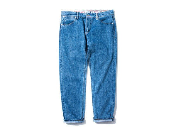 "DeMarcoLab x have a good time ""DMC5 XX5 ALL FRAME LOGO DENIM JEANS"""