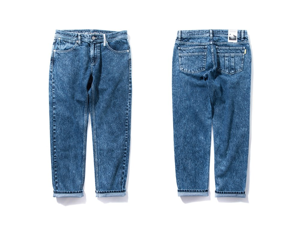 "DeMarcoLab ""DMC5 XX5 S/W DENIM JEANS"""