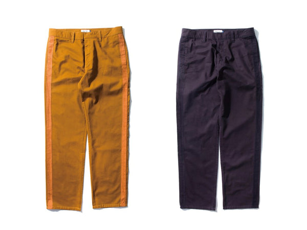 "DeMarcoLab ""SIDE STRIPE CHINO"""