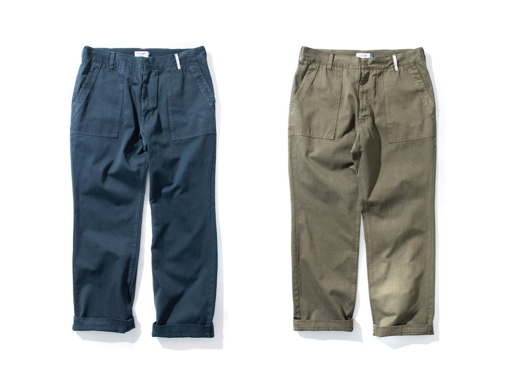 "DeMarcoLab ""OVER DYED MIL. PANT"""