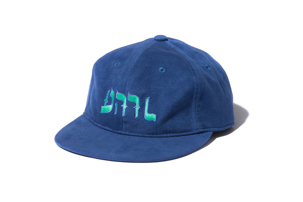"DeMarcoLab ""DML-R SUEDE 6 PANEL"" (Midnight Blue)"