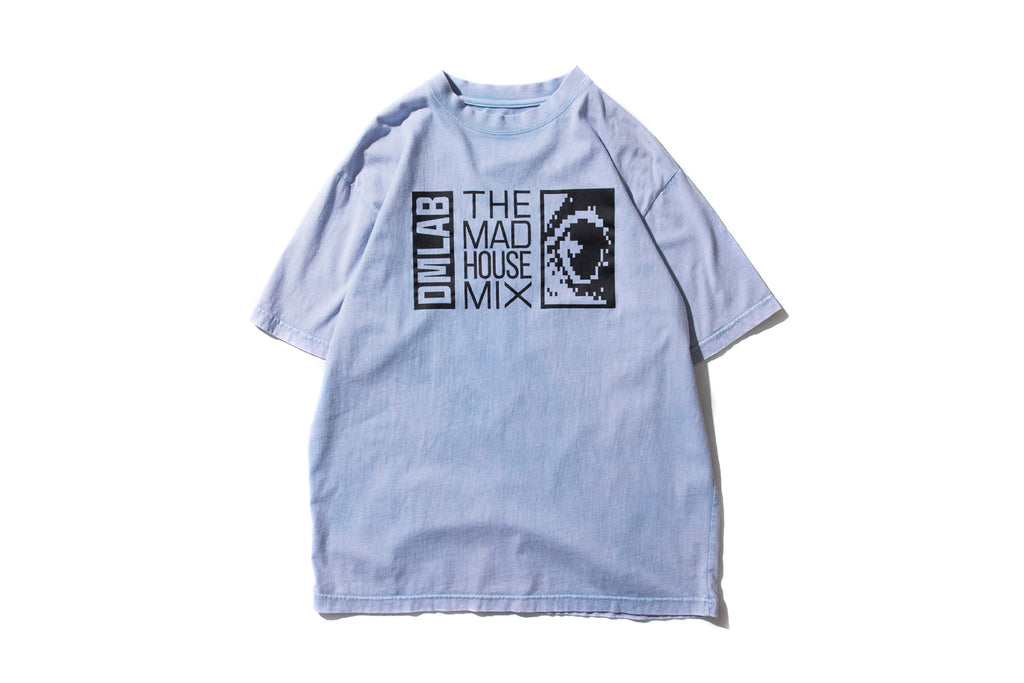 "DeMarcoLab ""THE MAD HOUSE TIE DYE TEE"" (L.Blue)"