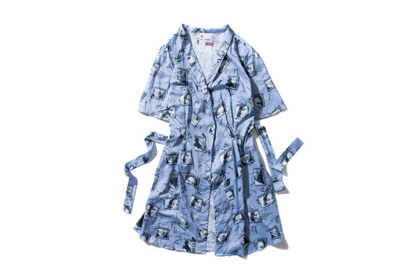"DeMarcoLab x Kochetkov ""ANXP WRAP DRESS"" (Slate)"
