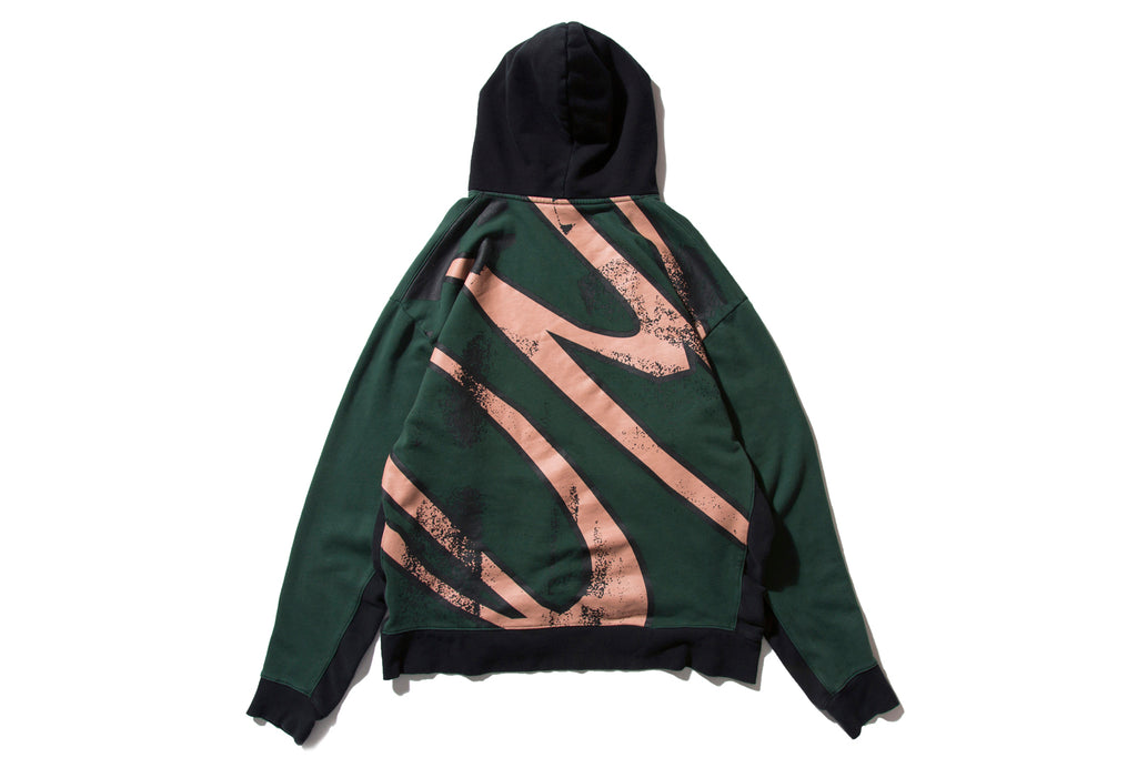 "DeMarcoLab ""OVER DYED PANEL HOODY"" (Army)"