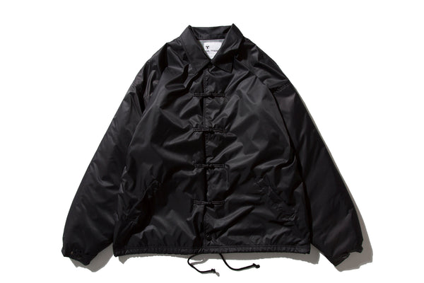 "DeMarcoLab ""FUR CHIN COACH JKT"" (Black)"