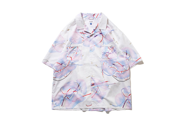 "DeMarcoLab ""BRANCHES & LEAVES WIDE SHIRT"" (Ivory)"