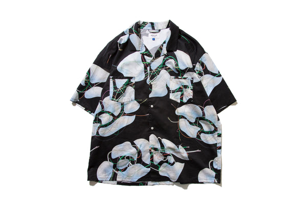 "DeMarcoLab ""BRANCHES & LEAVES WIDE SHIRT"" (Black)"