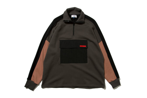 "DeMarcoLab ""DML.ZIP SWEAT #2"" (Charcoal)"