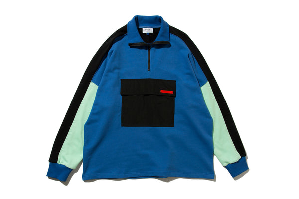 "DeMarcoLab ""DML.ZIP SWEAT #2"" (Blue)"
