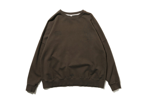 "DeMarcoLab ""DG.GAME CREWNECK SWEAT"" (Brown)"