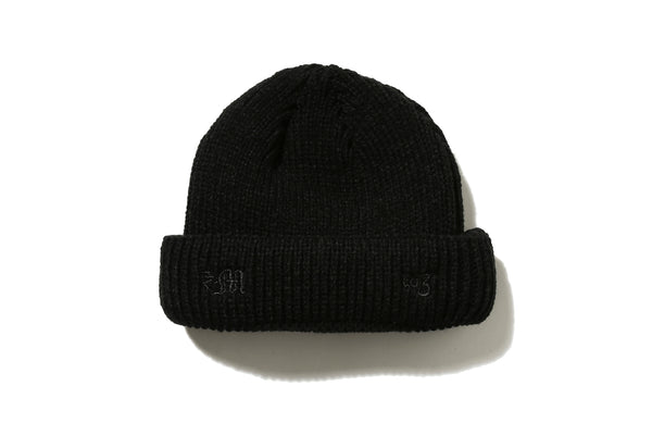 "DeMarcoLab ""dMLA3 SHORT BEANIE"" (Black)"