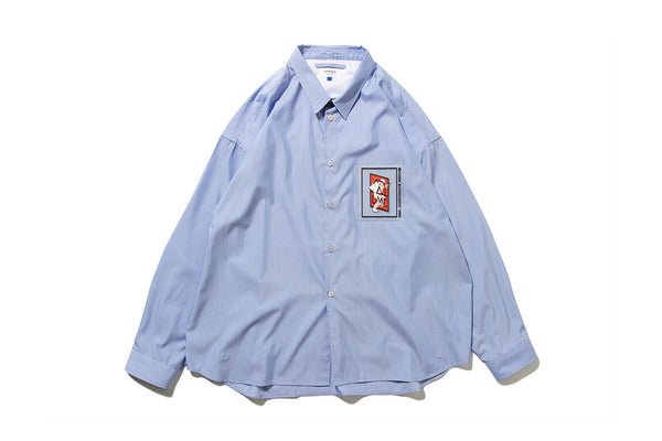 "DeMarcoLab ""OFFICE COMBAT SHIRT"" (Blue)"
