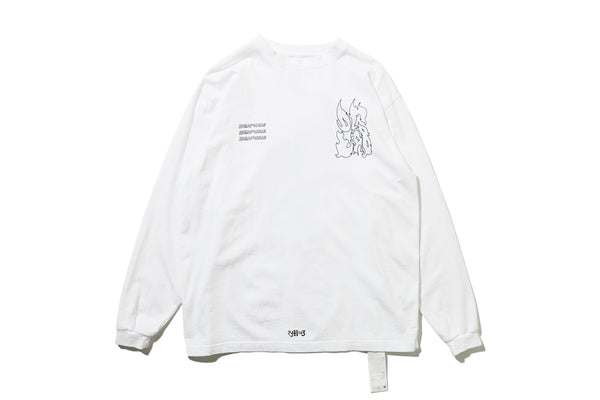 "DeMarcoLab ""DG.GAME L/S TEE"" (White)"