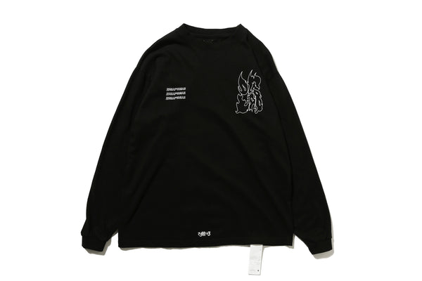 "DeMarcoLab ""DG.GAME L/S TEE"" (Black)"