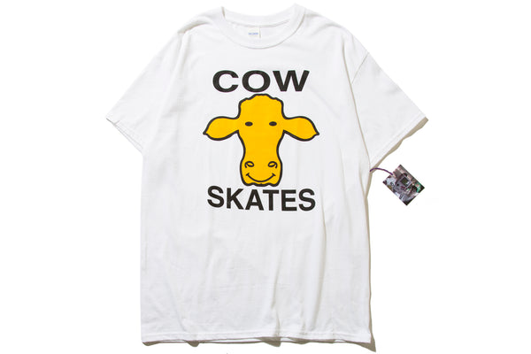 "DEAR SKATING ""COW SKATES TEE"""