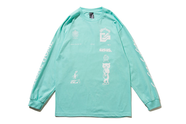 "GASIUS ""THE EXTRA GASIUS L/S TEE"" (Green)"