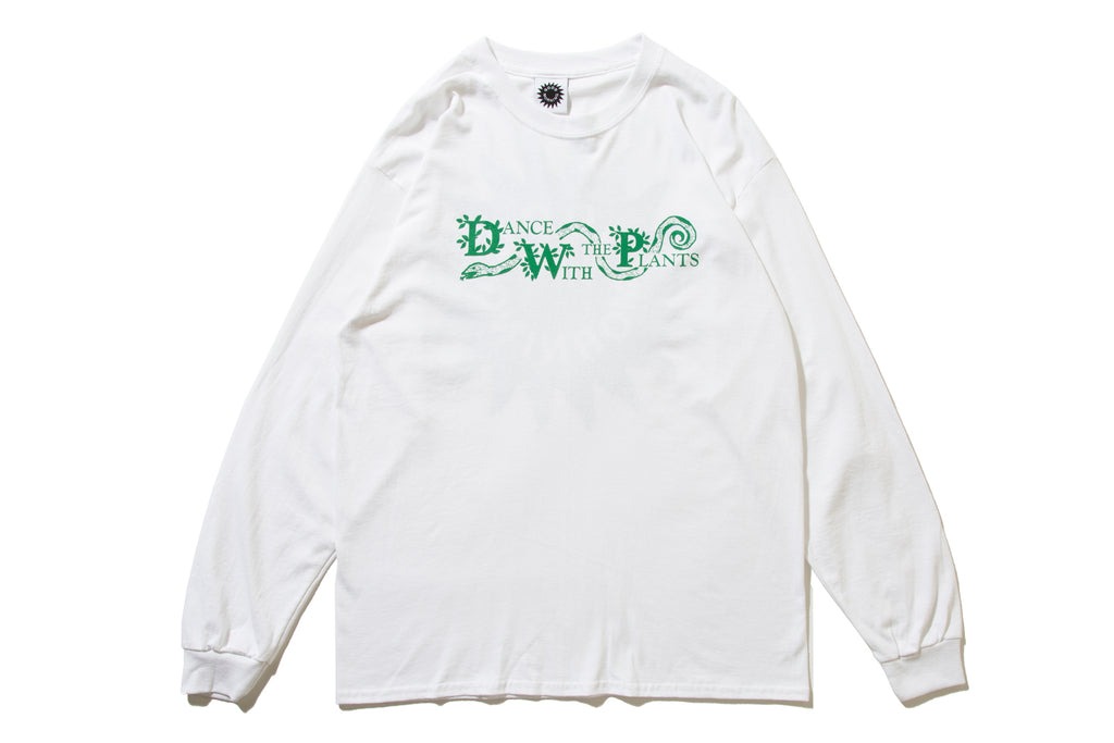 "GOOD MORNING TAPES ""DANCE WITH THE PLANTS LS TEE"""