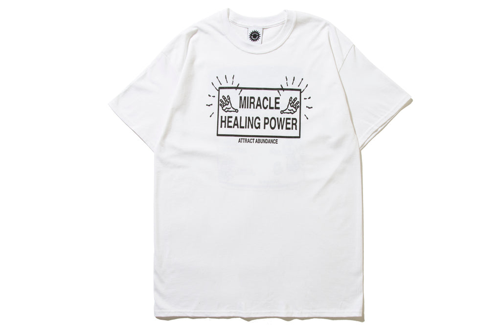 "GOOD MORNING TAPES ""ATTRACT ABUNDANCE TEE"""
