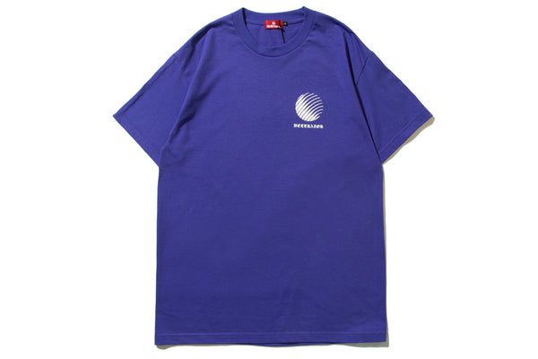 "HELLRAZOR ""OL'ENGLISH LOGO SHIRT"" (Purple)"