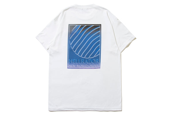 "HELLRAZOR ""INDEPENDENCE POCKET SHIRT"" (White)"