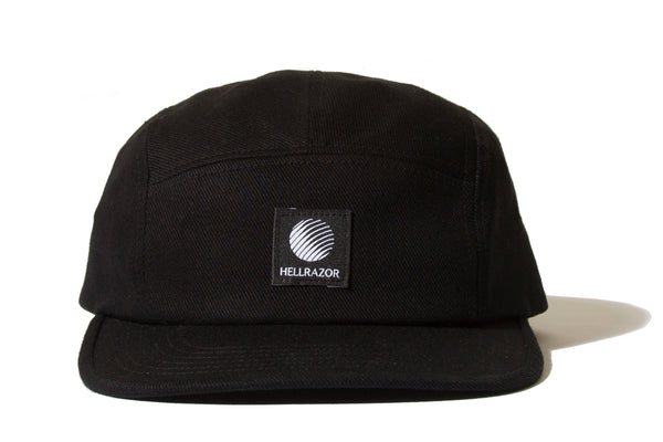 "HELLRAZOR ""LOGO PATCH TWILL CAMP CAP"" (Black)"
