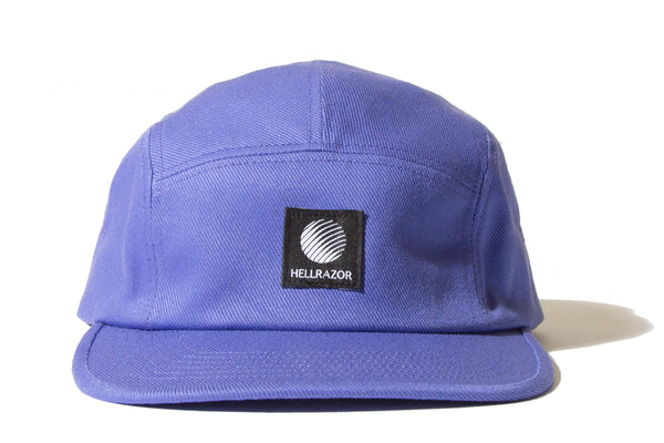 "HELLRAZOR ""LOGO PATCH TWILL CAMP CAP"" (Purple)"
