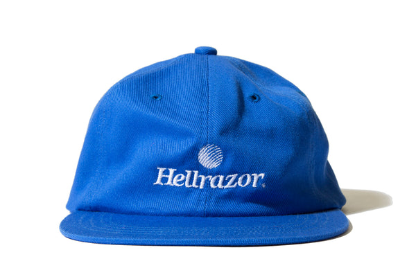 "HELLRAZOR ""TRADEMARK LOGO 6PANEL"" (Blue)"