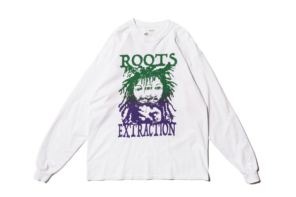 "GOOD MORNING TAPES ""ROOTS EXTRACTION L/S TEE"""