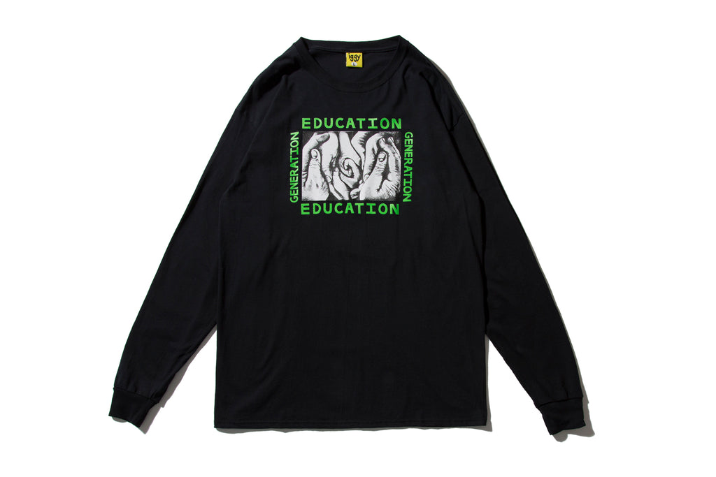 "IGGY NYC ""GENERATION EDUCATION L/S TEE"""