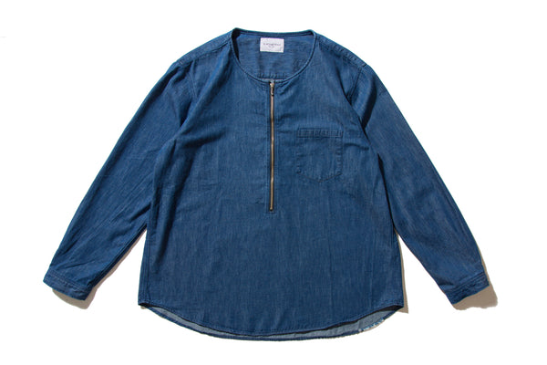 "BLACK WEIRDOS ""PULLOVER DENIM-SHIRT"""