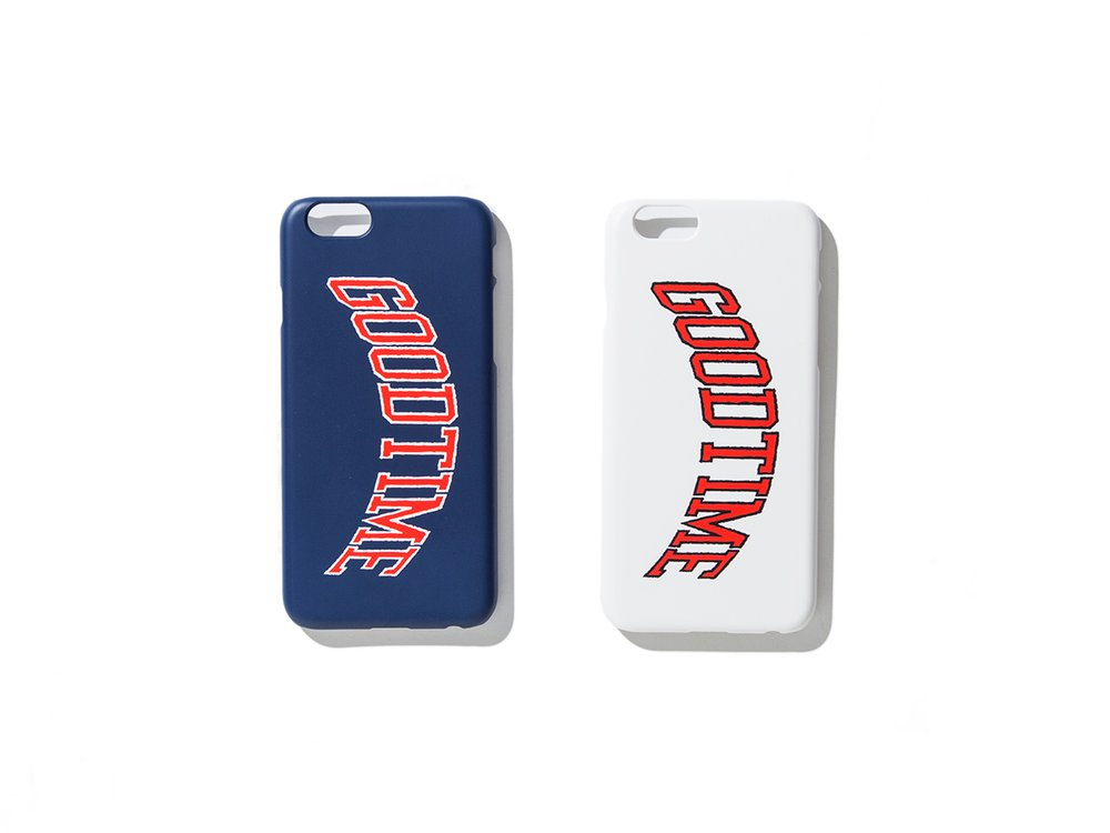 "have a good time ""GOODTIME COLLEGE IPHONE CASE"""