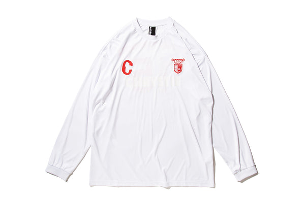 "CHRYSTIE NYC ""CSC L/S SOCCER JERSEY"" (White)"