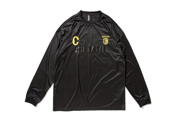 "CHRYSTIE NYC ""CSC L/S SOCCER JERSEY"" (Black)"