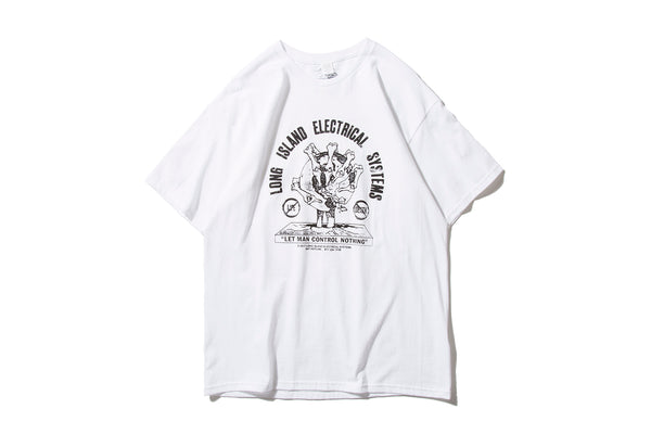"L.I.E.S. RECORDS ""WORLD DEMISE TEE"" (White)"