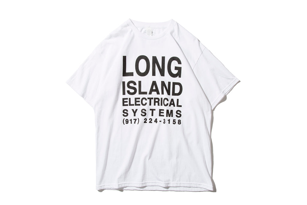 "L.I.E.S. RECORDS ""CLUB TEE"" (White)"