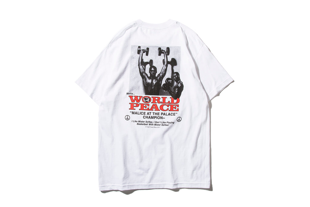 "FULL COURT PRESS ""WORLD PEACE TEE"""