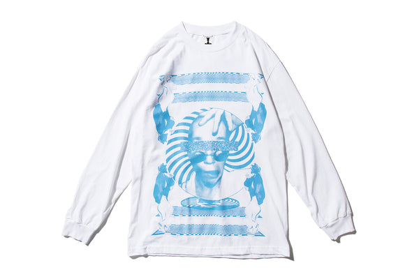 "AWESOME ""SNAP OUT #2 L/S TEE"" (White)"