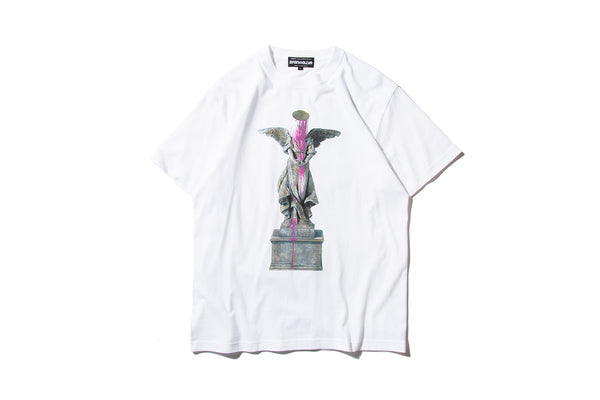 "Sync. x BRANDALISM ""BUCKET ON HEAD TEE"" (White)"