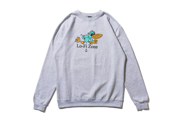 "LO-FI ""DROPPINGS CREWNECK"""