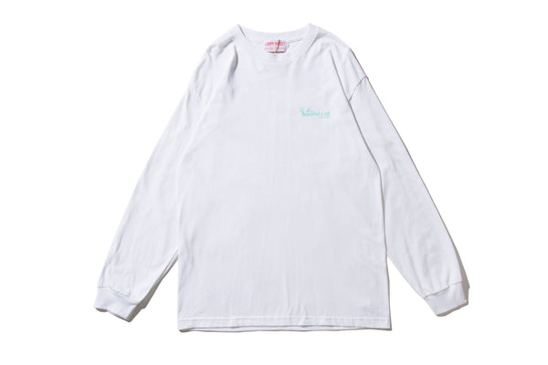 "LOOPY HOTEL ""BEAUTIFUL GIRL L/S TEE"" (White)"