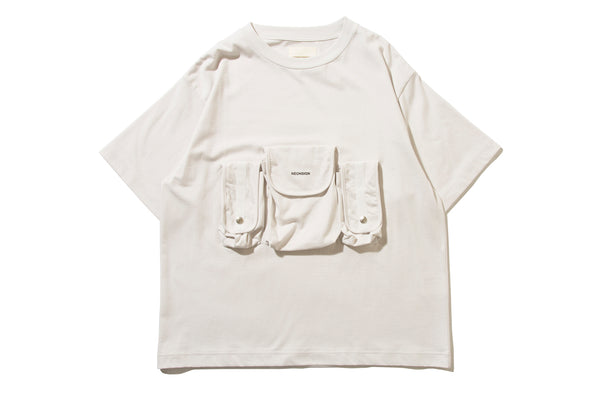 "NEON SIGN ""CHESTBAG T-SHIRT"" (Ice)"