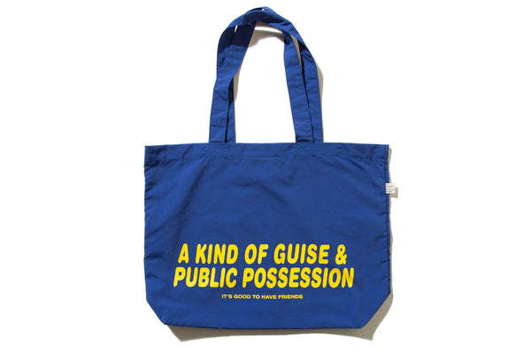 "PUBLIC POSSESSION ""FRIENDS WILL DELIVER SHOPPER BAG"""