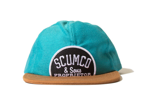 "SCUMCO & SONS ""FALCON BOWSE CAP"" (Blue)"