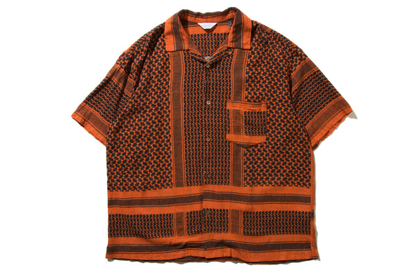 "UNUSED ""US1623 S/S SHIRT"" (Orange)"