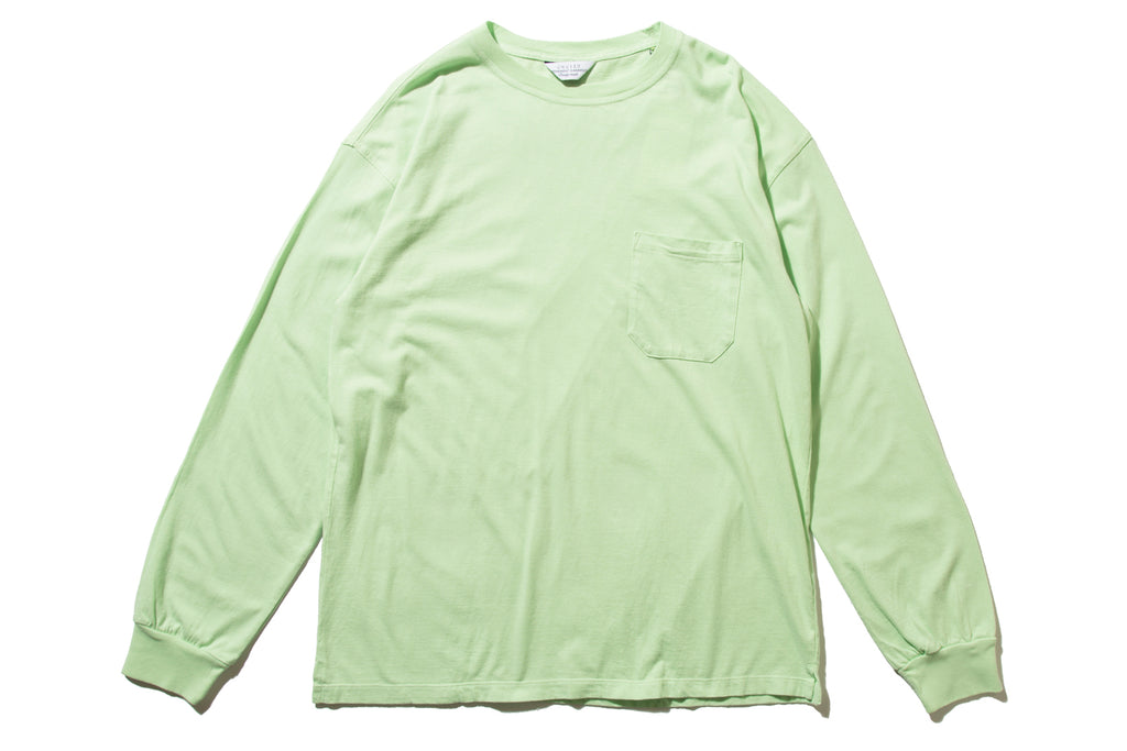 "UNUSED ""US1595 L/S POCKET TEE"" (L.Green)"