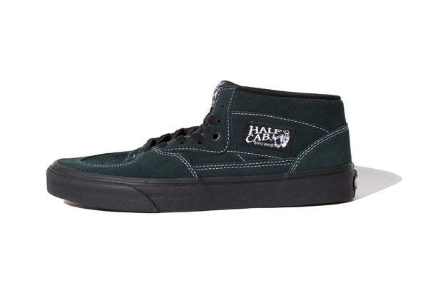 "Vans ""HALF CAB (BLACK OUTSOLE)""(Green)"